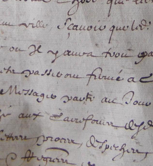 ADH, 2E 11/40, ff.1-3, bureau des messages de Béziers à Toulouse et Castres