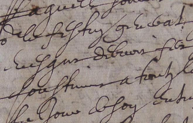 ADH, 2E 11/40, ff.177-178, festin général donné par l'évêque de Béziers en 1633