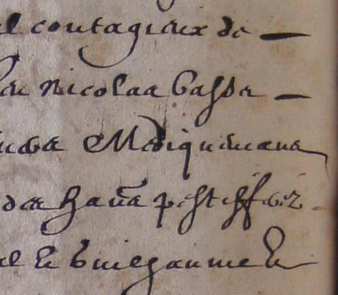 ADH, 2E 11/40, ff.217-219, médicaments fournis pendant la peste de Béziers en 1629-1630