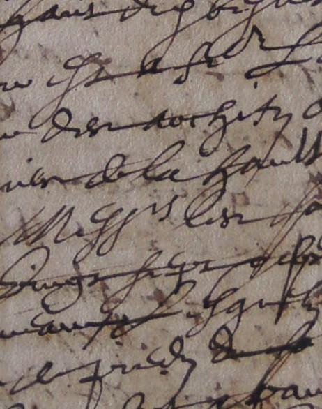 ADH, 2E 11/40, ff.284-285, bancs des archifs de Béziers