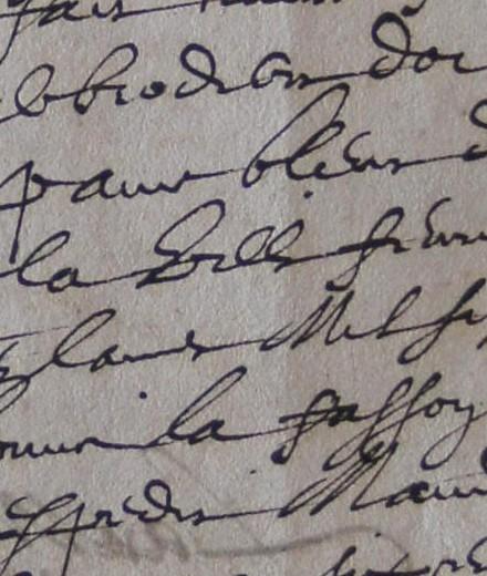 ADH, 2E 11/40, ff.316-317, sac brodé pour présentation des clés de Béziers à Louis XIII