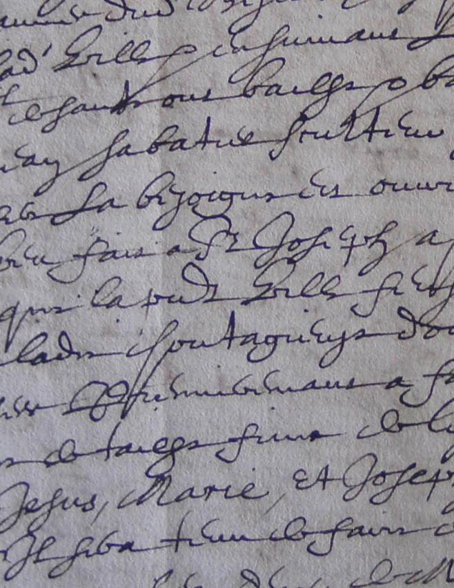 ADH, 2E 11/40, ff.755-756, accomplissement du voeu des consuls de Béziers, la ville ayant été préservée du mal contagieux (1640)