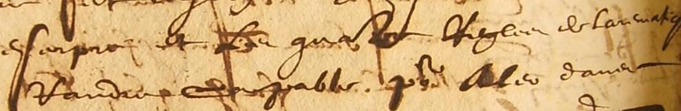 ADH, 2E 14/119, f°201, contrat d'apprentissage de la lecture, de l'écriture, et de l'arithmétique