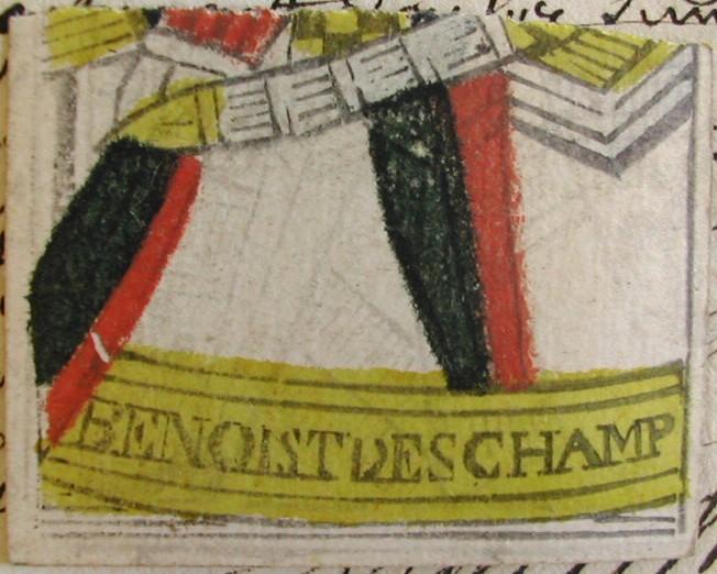 carte fabriquée par Benoît Deschamps