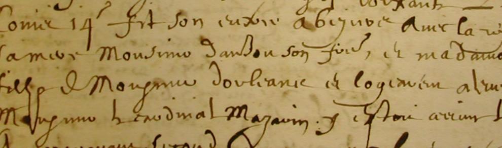 ADH, 2E97/257, entrée du Roi à Béziers (1660)