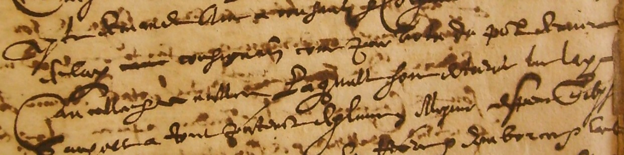 ADH, 2E 7/124, f°2r, 17 janvier 1644, registre de Me Basset, notaire à Bédarieux