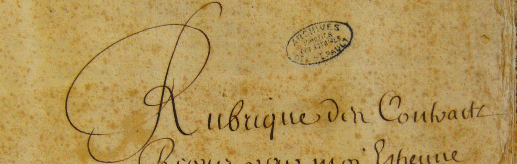ADH, 2E46-156 (Me Anglas, notaire à Marsillargues, 1669-1670)